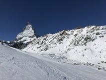 Zermatt Cervino Foto de archivo libre de regalías