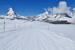 zermatt de la Suisse de montagne de matterhorn Photographie stock libre de droits