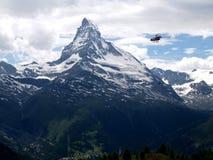 zermatt de matterhorn Photo libre de droits
