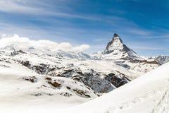 zermatt de matterhorn Suisse Image stock