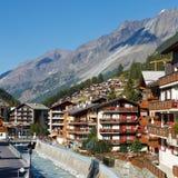 Zermatt, die Schweiz lizenzfreie stockbilder
