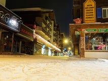 Zermatt główna ulica Zdjęcie Royalty Free