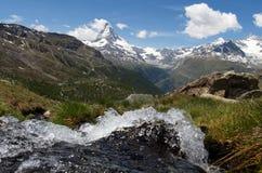 zermatt matterhorn Стоковые Фото