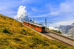 Zermatt Schweiz Arkivbild