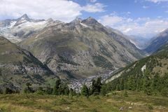 Zermatt surrounding Stock Photos
