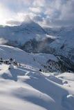 Zermatt Svizzera del Cervino della montagna Immagine Stock