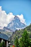 Zermatt, Svizzera, il Cervino Fotografia Stock