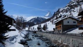 Zermatt, Switzerland lizenzfreie stockfotografie