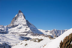 Zermatt, switzerland, matterhorn, ski resort Royalty Free Stock Image