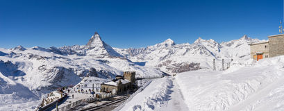 Zermatt, switzerland, matterhorn, ski resort Stock Photo