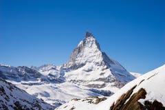 Zermatt, switzerland, matterhorn, ski resort Royalty Free Stock Photo