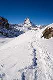 Zermatt, switzerland, matterhorn, ski resort Royalty Free Stock Image