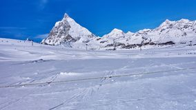Zermatt Switzerland is a very popular ski resort in Europe lyi Stock Photos