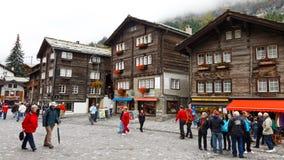 Zermatt, Zwitserland Stock Afbeeldingen