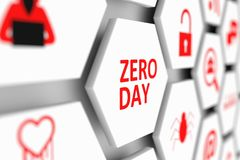 Zero концепция дня Стоковая Фотография RF
