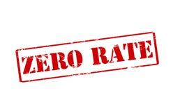 Zero тариф Стоковая Фотография RF