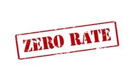 Zero тариф Стоковое фото RF