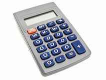 Zero calculator Stock Images
