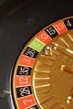 Zero da roleta do casino Fotografia de Stock Royalty Free