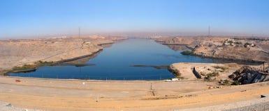 Zero del fiume al lago Nasser Immagini Stock Libere da Diritti