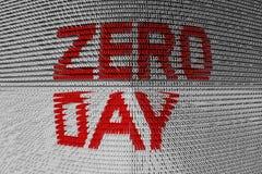 Zero dzień Fotografia Stock