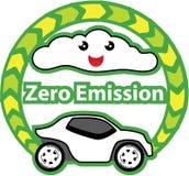 Zero Emission vector Royalty Free Stock Images