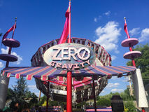 Zero Gravity, Canobie Lake, Salem, NH. Stock Image