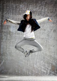 Zero gravity dance Stock Photo