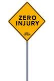 Zero Injury Reminder Stock Photos
