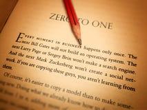 Zero, jeden zdjęcie stock