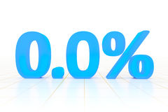 Zero percent Stock Images