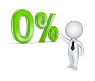 Zero procent. Arkivbild