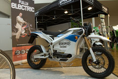 The Zero S Electric Motorbike Stock Images