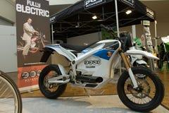 The Zero S Electric Motorbike Stock Images