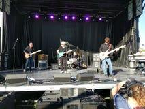 Zero Ted zespół Rock'n JazzFest w Sioux spadkach zdjęcie stock