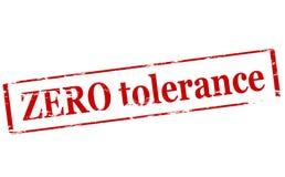 Zero tolerance. Rubber stamp with text zero tolerance inside, illustration stock illustration