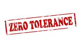 Zero tolerance. Rubber stamp with text zero tolerance inside, illustration vector illustration