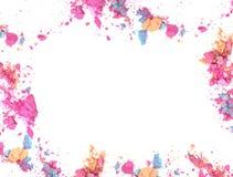 Zerquetscht bilden Sie Farbrahmen und fassen Sie mit Leerstelle für Texthintergrund ein Lizenzfreies Stockfoto