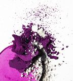 zerquetschte kosmetische Produkte - Schönheit und Kosmetik redeten Konzept an stockfoto