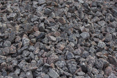 Zerquetschte Steine Stockfotografie