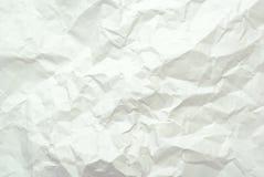 Zerquetschtes Papier Stockfotografie