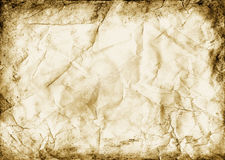 Zerquetschtes Papier Stockbilder