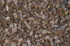 Zerquetschtes Stein des kleinen Bruches stockfotos