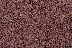 Zerriebene Schokolade Lizenzfreies Stockfoto