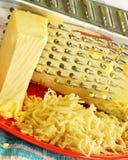 Zerriebener Käse Lizenzfreies Stockbild