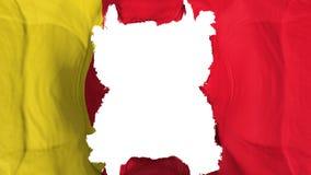Zerrissene Moroni-Fliegenflagge lizenzfreie abbildung