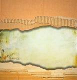 Zerrissene Pappbeschaffenheit oder -hintergrund Stockfotos