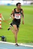 Zersenay Tadese en la acción en los 5000m Imagen de archivo libre de regalías