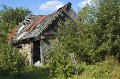 Zersetzte Hütte Lizenzfreie Stockbilder