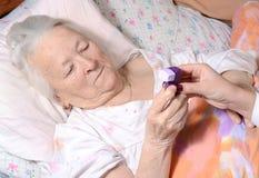 Zerstäuber sind für die Behandlung der zystischer Fibrose, des Asthmas, des COPD und anderer Erkrankungen der Atemwege allgemein  stockfoto